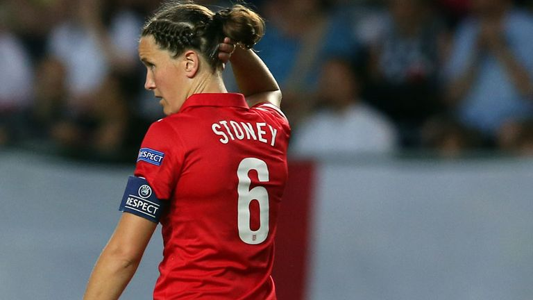 Casey Stoney is fit and named in the squad for England's World Cup qualifier against Montenegro next month