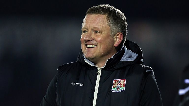 Chris Wilder: Pleased by display
