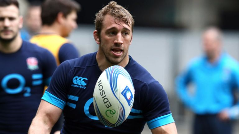 Chris Robshaw: Hoping to upset odds at Eden Park