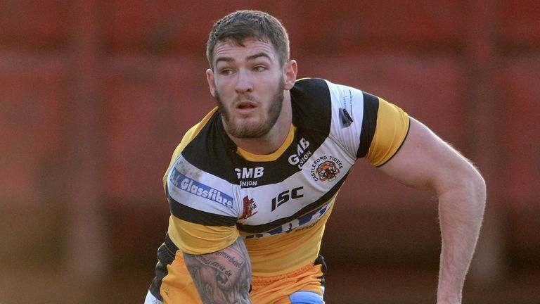 Daryl Clark: two tries for Castleford
