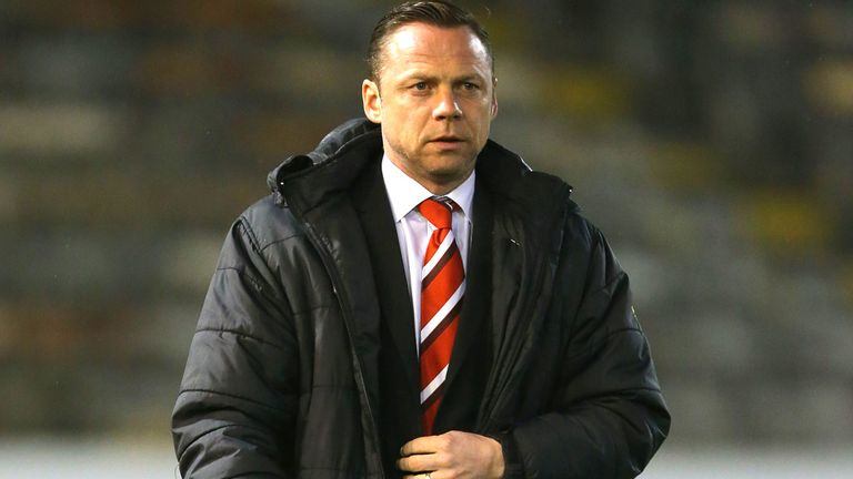 Paul Dickov: Looking to bring fresh faces into the Keepmoat Stadium