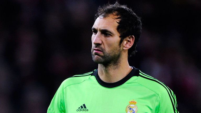 Diego Lopez: Fulfilled a dream by playing for Real Madrid