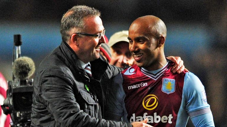 Paul Lambert: Hopes Fabian Delph can cope with England pressure