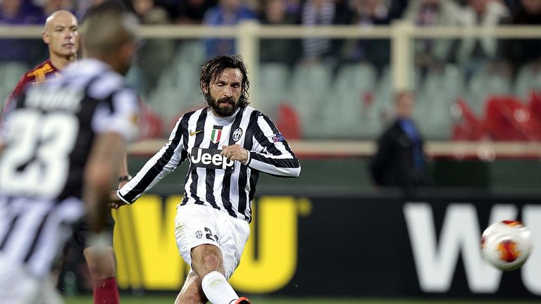 Andrea Pirlo: Scored the winner for Juventus