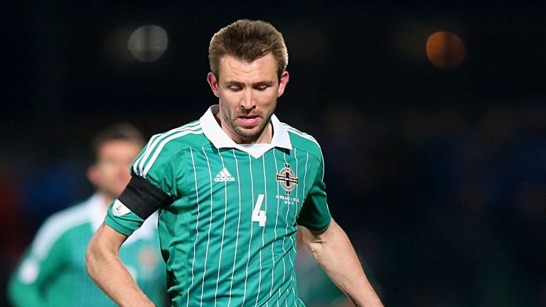 Gareth McAuley: No complaints about red card