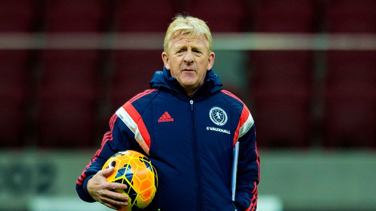 Gordon Strachan: Scotland boss is looking forward to the match with Nigeria