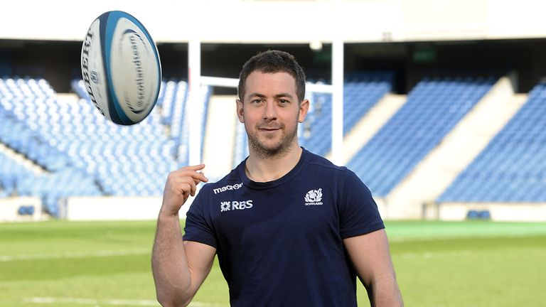 Greig Laidlaw: Rested for five weeks