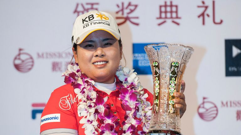 Inbee Park: World No 1 collects her trophy at Mission Hills