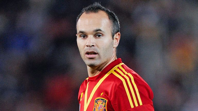 Andres Iniesta: On target in Spain win