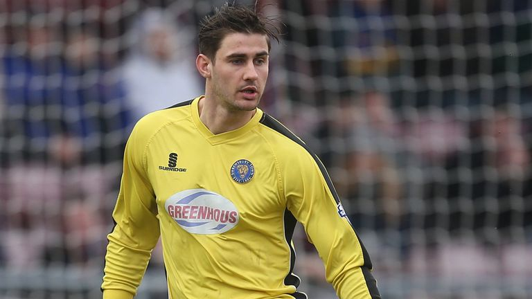 Former Shrews keeper Joe Anyon will join Chesterfield from Scunthorpe