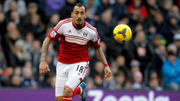 Kostas Mitroglou: Has been restricted to just two outings for Fulham so far