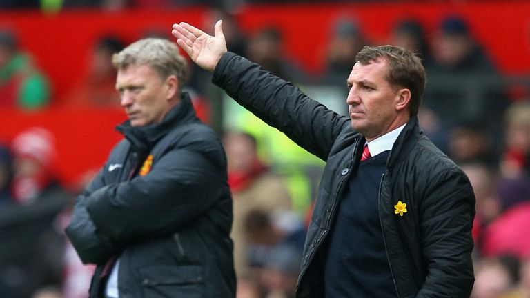 Brendan Rodgers: Continues to play down Liverpool's title chances