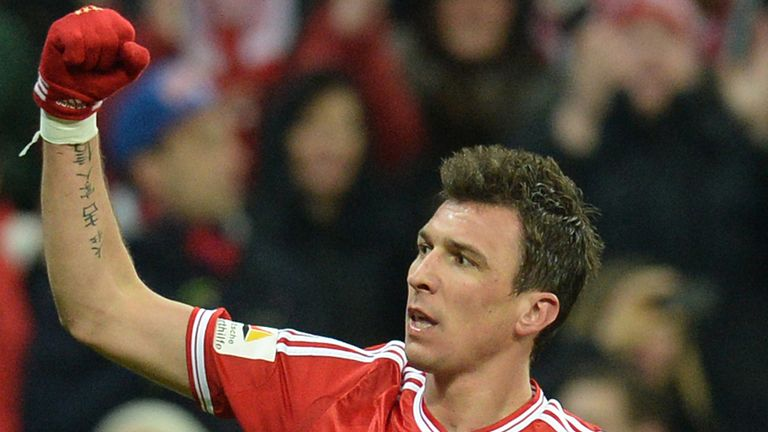 Mario Mandzukic: Left out of Bayern squad