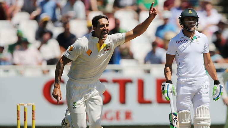 Mitchell Johnson: Given a breather by Australia