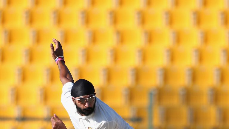 Monty Panesar: claimed 5-63 for the MCC