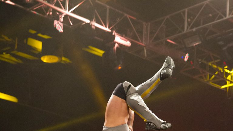 Adrian Neville saved Sami Zayn on WWE NXT