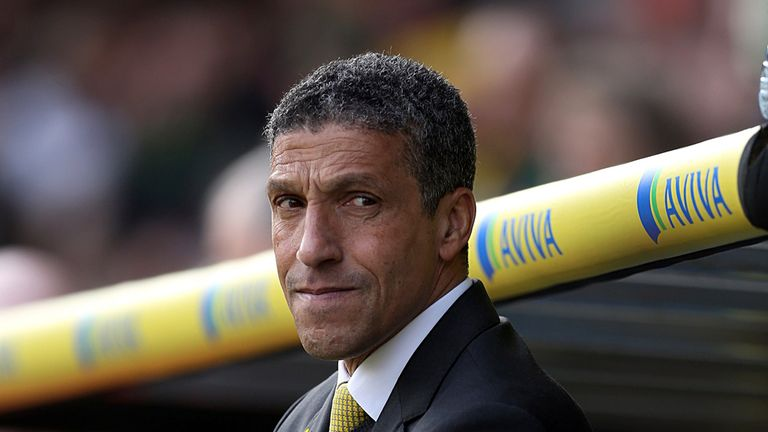 Chris Hughton: Saw his side held at home