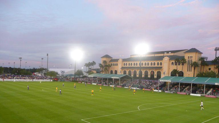 Orlando City are currently playing inside Walt Disney World