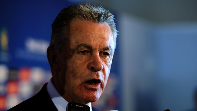 Ottmar Hitzfeld: Has named his Swiss squad