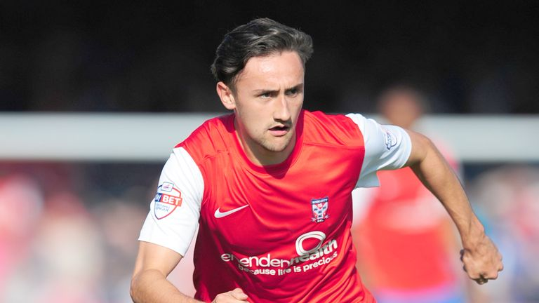 Ryan Brobbel: Loaned to Hartlepool