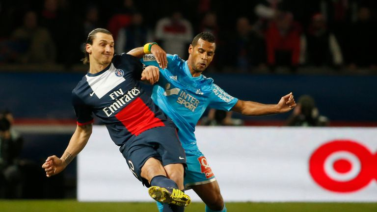 Zlatan Ibrahimovic stays in control