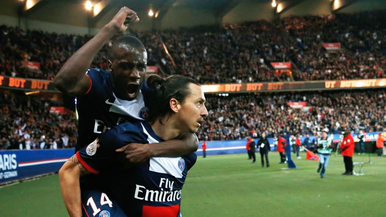 Zlatan Ibrahimovic: Scored another brace for Paris Saint-Germain