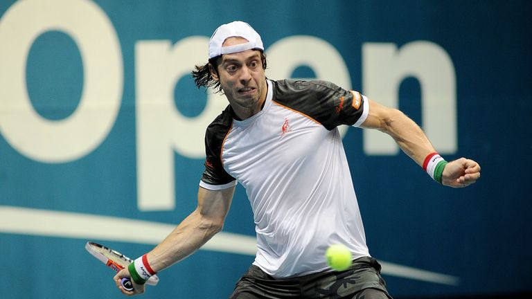 Paolo Lorenzi: never previously advanced past the quarter-finals of any Tour event
