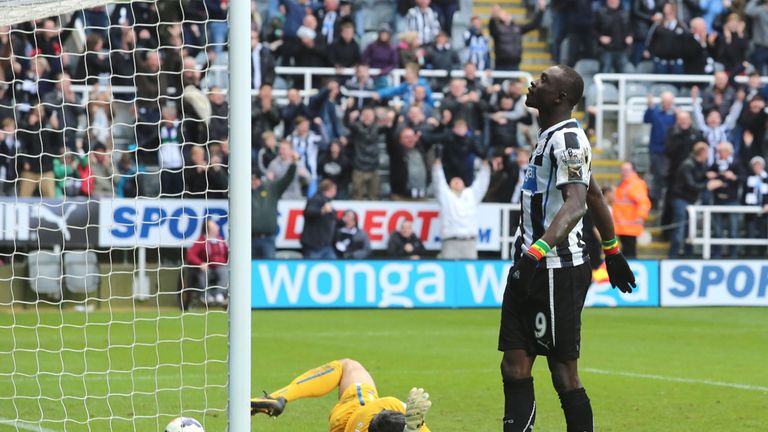 Papiss Cisse: Newcastle striker out for 'several months'