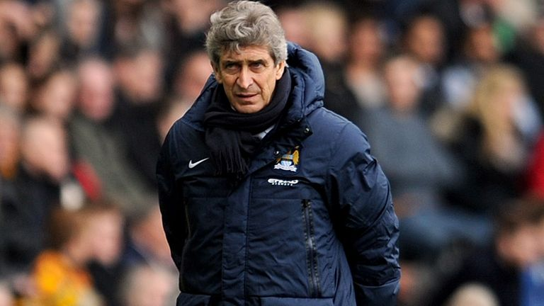 Manuel Pellegrini: Manchester City not the finished article