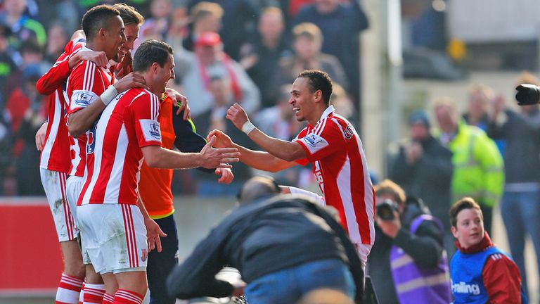 Peter Odemwingie: Loving life at Stoke