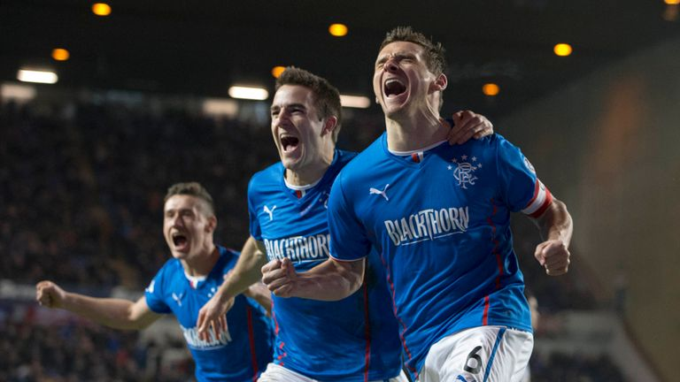 Lee McCulloch: Secured promotion with a first-half hat-trick