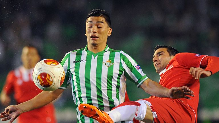 Jose Antonio Reyes (right): Scored the opener for Sevilla