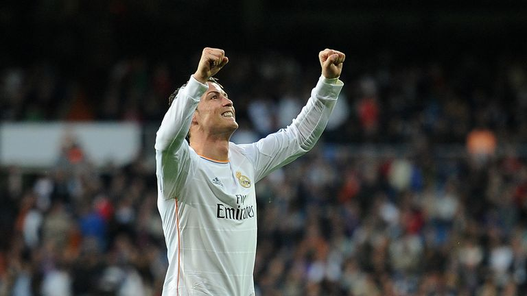 Cristiano Ronaldo: Amongst the goals again as Real won