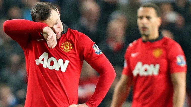 Wayne Rooney: Bemoans poor form at Old Trafford
