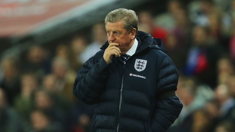 Roy Hodgson: His side beat Denmark 1-0 in a friendly on Wednesday