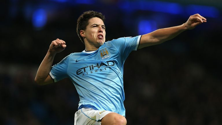 Samir Nasri: Cursed Manchester City's defeat in the first leg