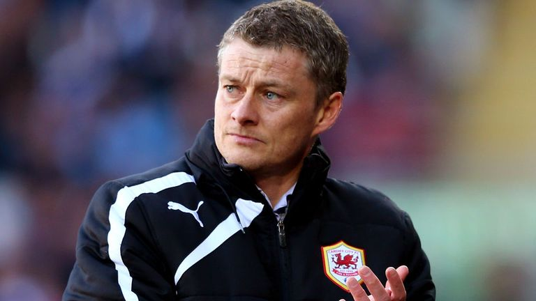 Ole Gunnar Solskjaer: Takes his Cardiff team to Sunderland on Sunday