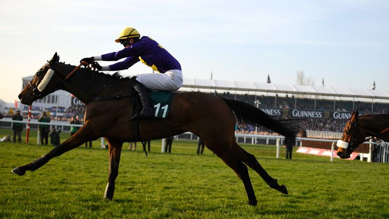 Spring Heeled kept his pursuers at bay in the Kim Muir