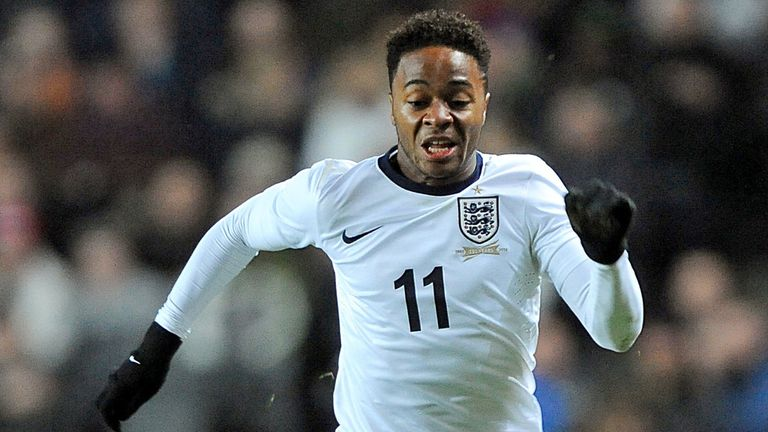 Raheem Sterling: Pushing hard for a place in England's starting line-up in Brazil