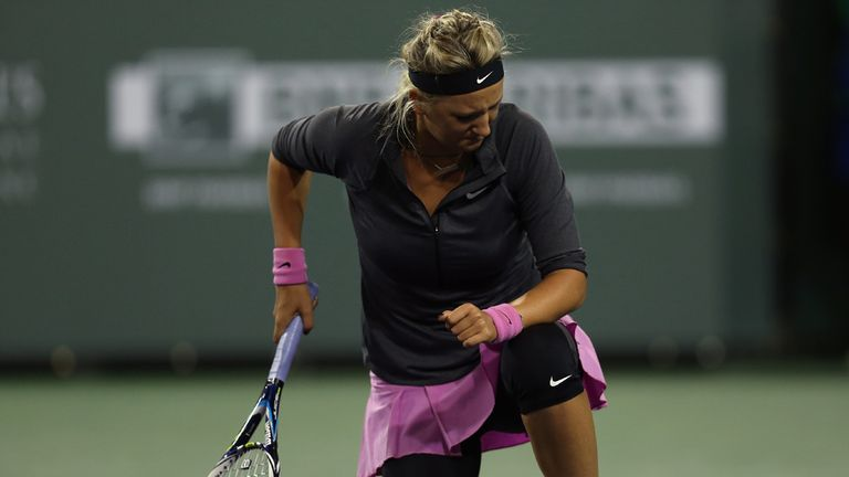 Victoria Azarenka's 2014 campaign has been disrupted by injury