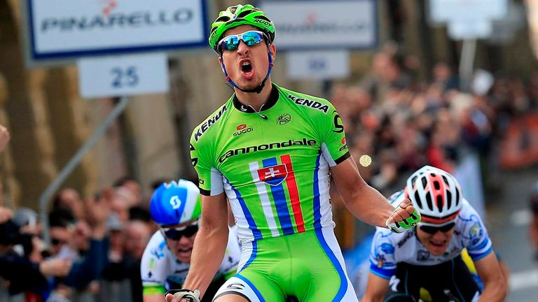 Peter Sagan is looking to win the green jersey for the third year in a row