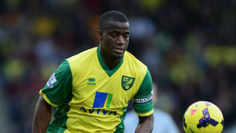 Sebastien Bassong: No place in Norwich side at Fulham