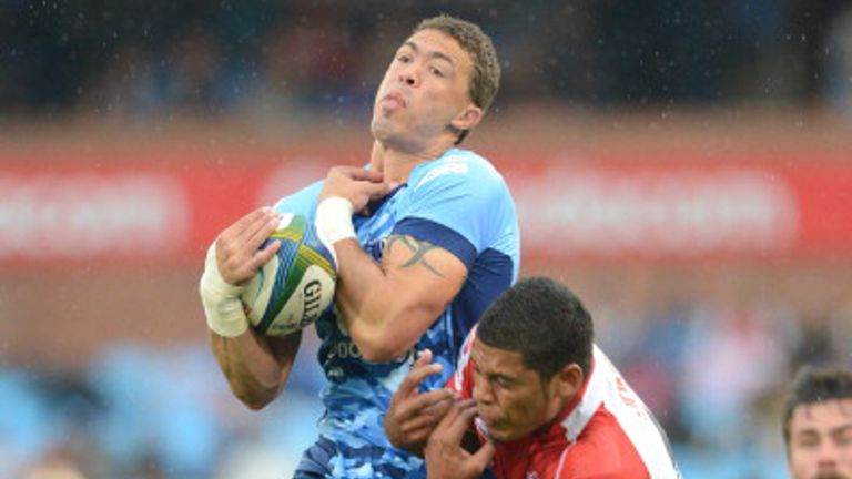Bjorn Basson takes a catch for the Bulls