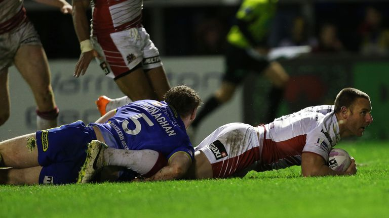 Blake Green: Ran in the second of Wigan's two tries