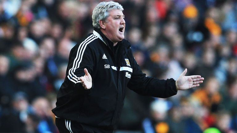 Steve Bruce: Has leapt to the defence of George Boyd