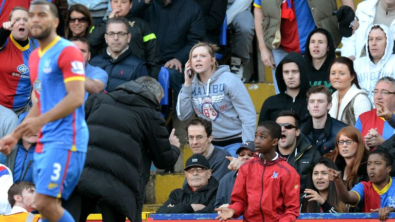 Jose Mourinho: Warns ballboy after loss to Crystal Palace