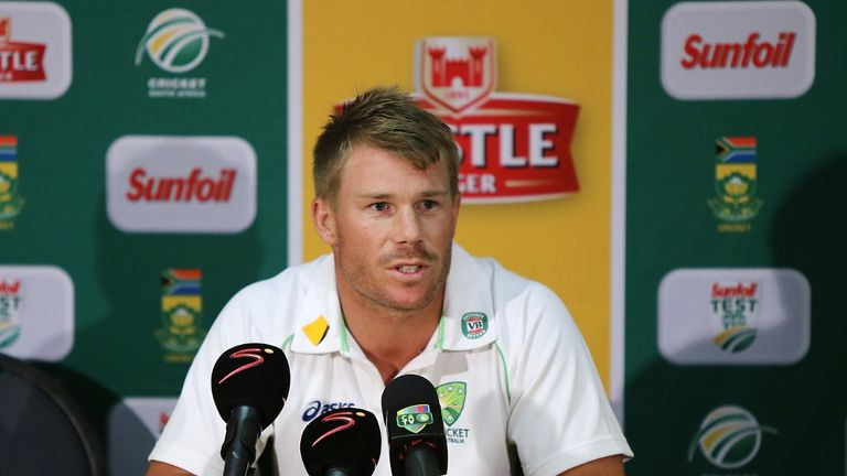 David Warner: The Australia batsman hopes Jonathan Trott returns to action as soon as possible.