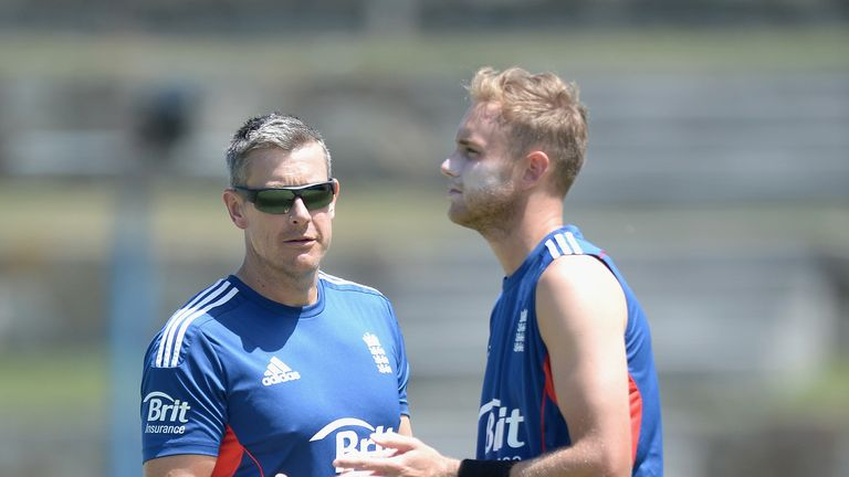England coach Ashley Giles needs Stuart Broad's seniority at the World T20
