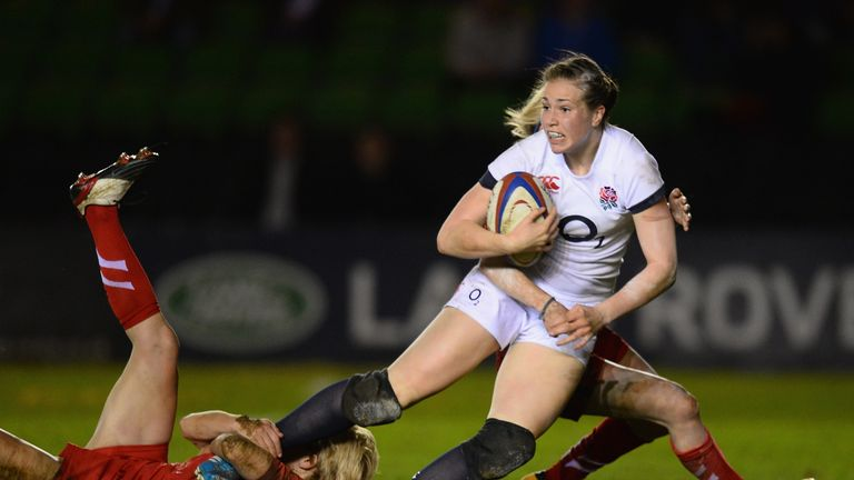 Emily Scarratt: Lichfield full-back ran the show for England