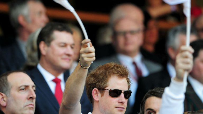 Prince Harry: Will be in Brazil during the World Cup this summer